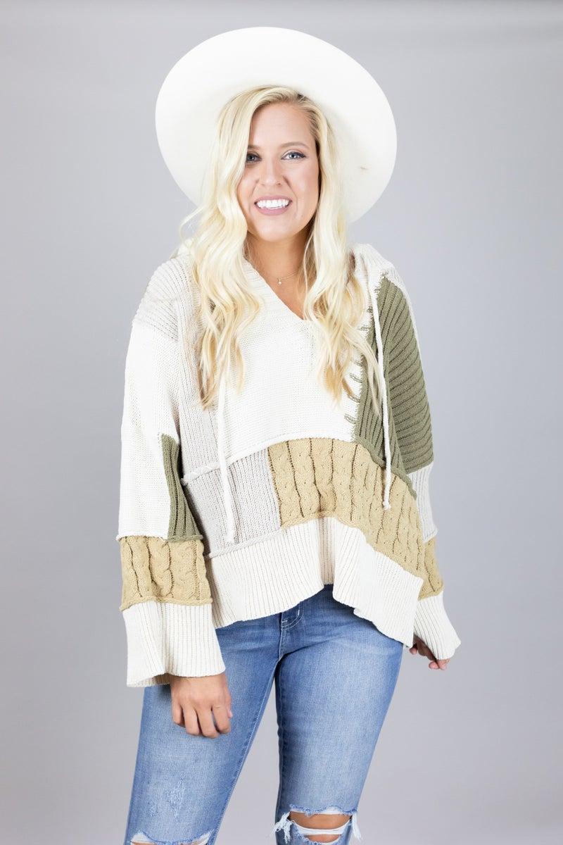 Fall's Embrace Sweater