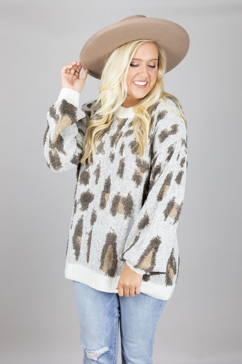 Purrfectly Styled Sweater