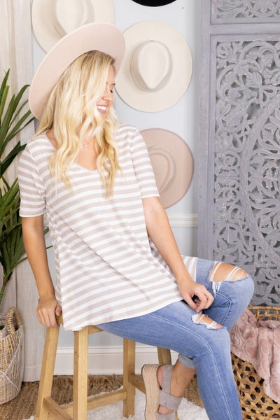 Striped Cutie Tee