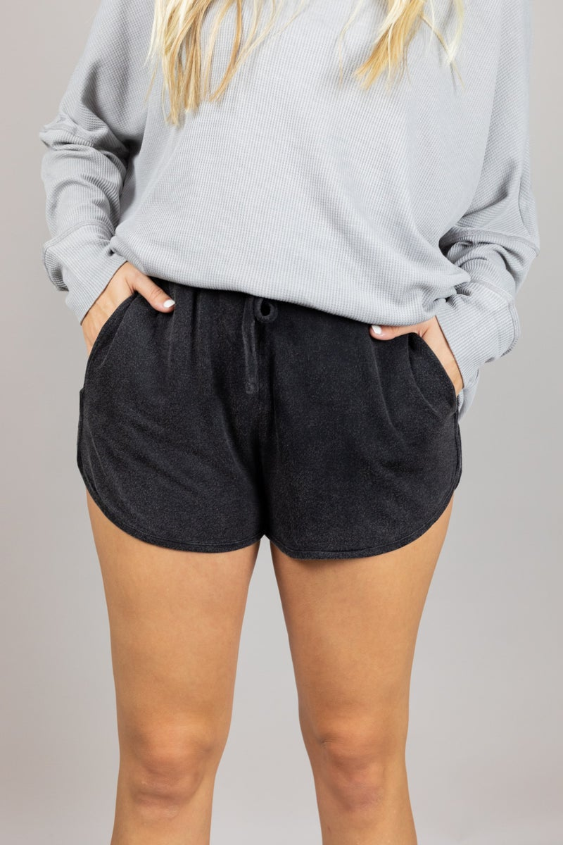 Let's Stay Home Shorts