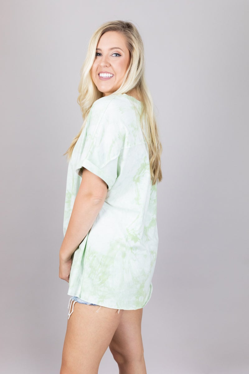 Making Waves Tie Dye Top
