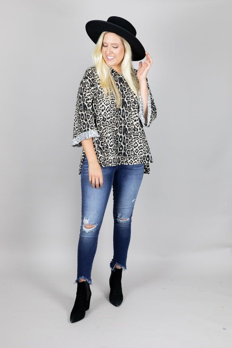 Leopard Lovin' Top