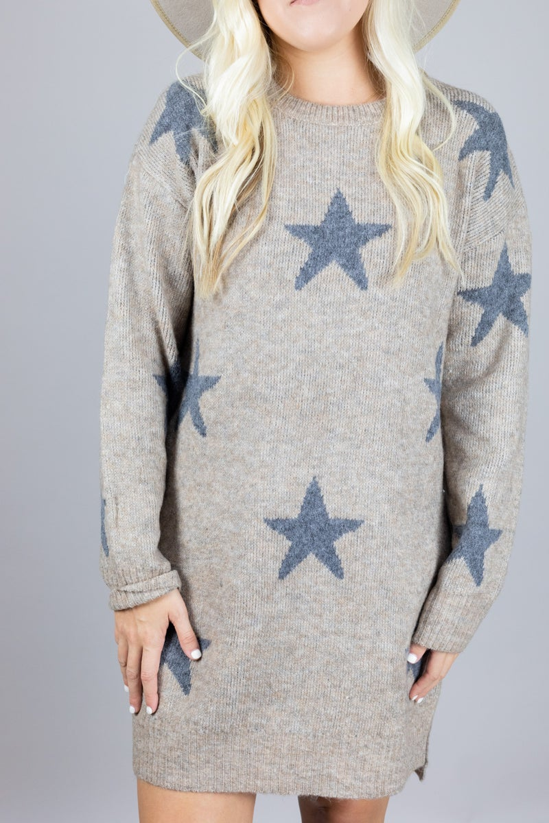 Star Gazing Sweater Dress