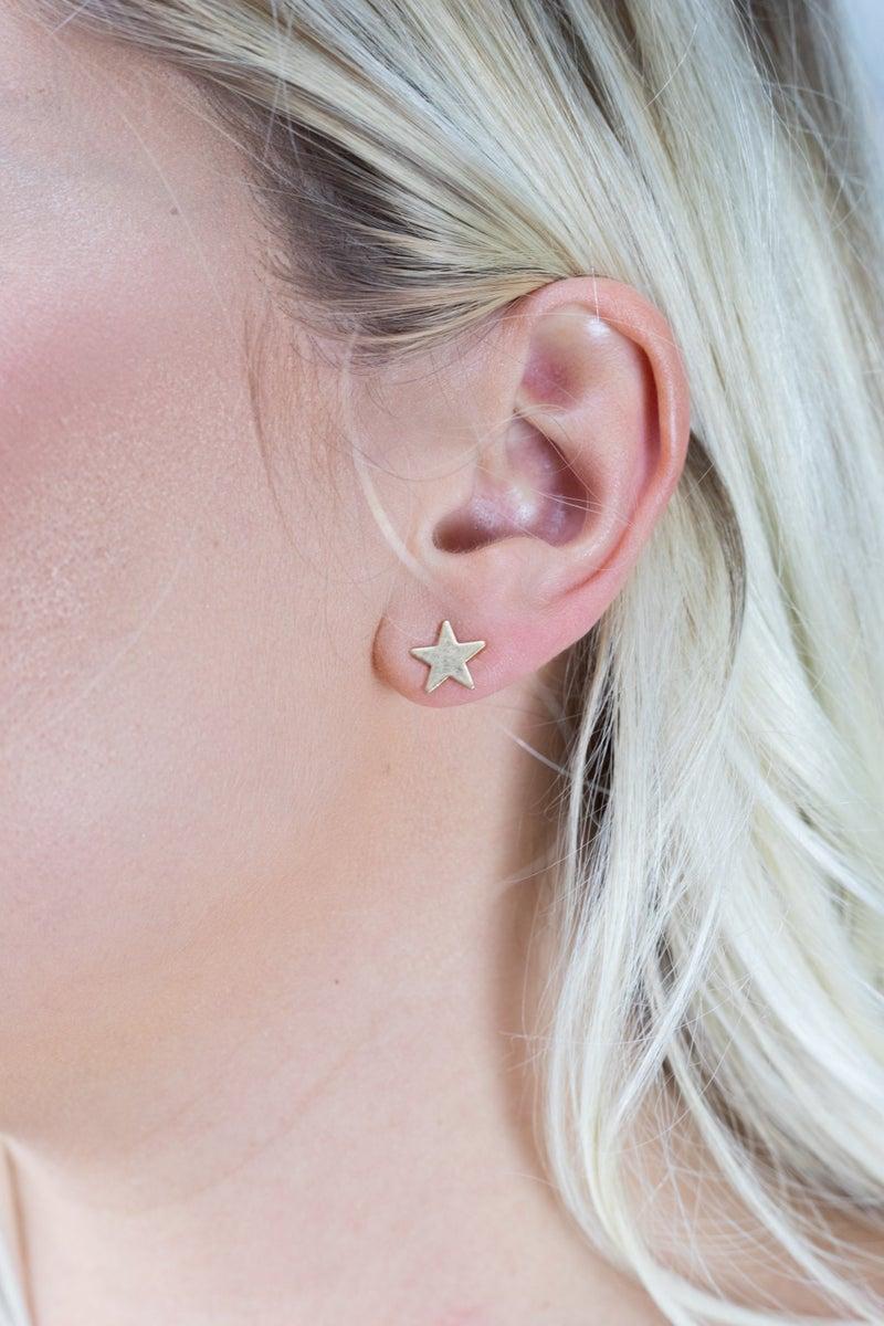 She's a Star Stud Earrings