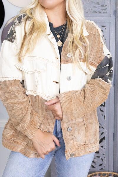 Mixed Up Babe Jacket