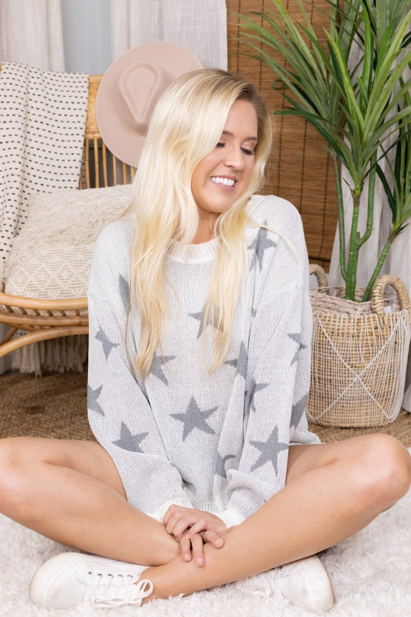Starry Night Lightweight Sweater