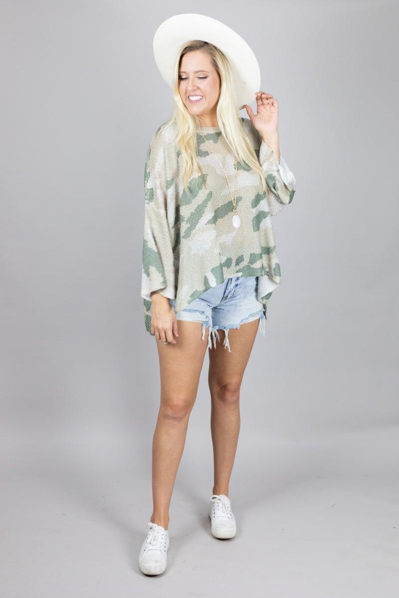 Hiding in Plain Sight Lightweight Sweater