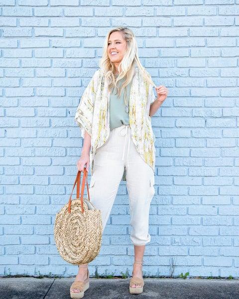 Sunny Days Ahead Kimono