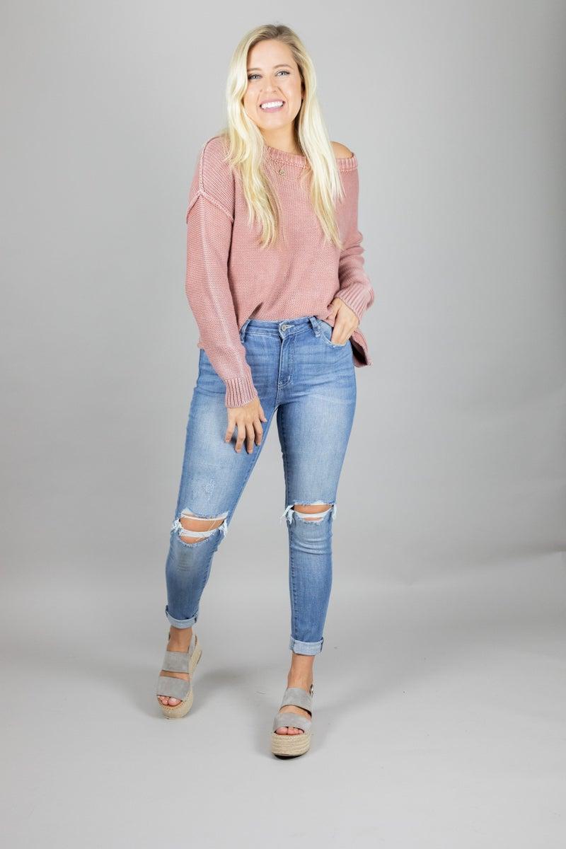Sweet Escape Lightweight Sweater
