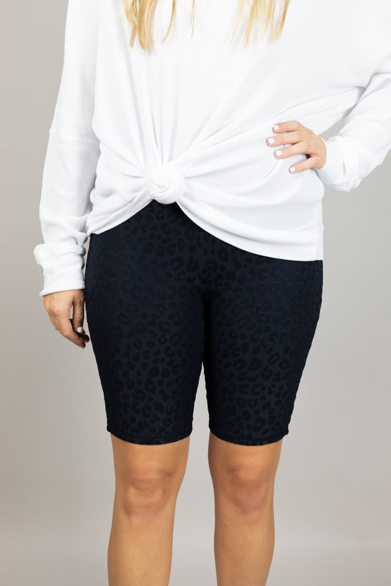 Out and About Biker Shorts