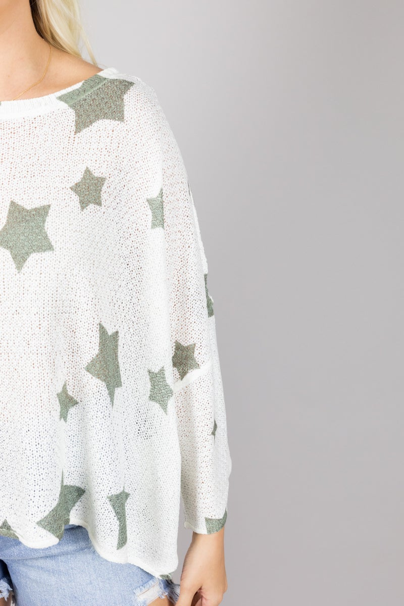 The Next Big Star Lightweight Sweater