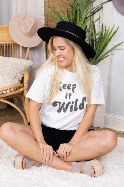 Keep It Wild Graphic Tee
