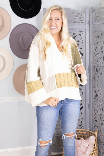 Fall's Embrace Sweater
