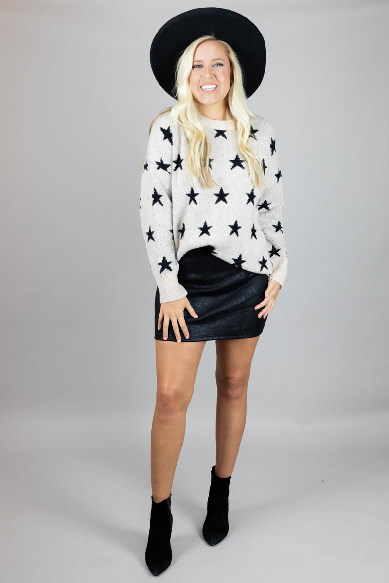 Star Light, Star Bright Sweater