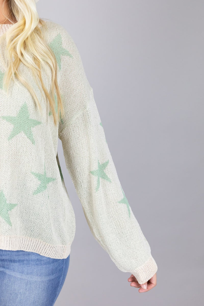 Count Your Lucky Stars Lightweight Sweater