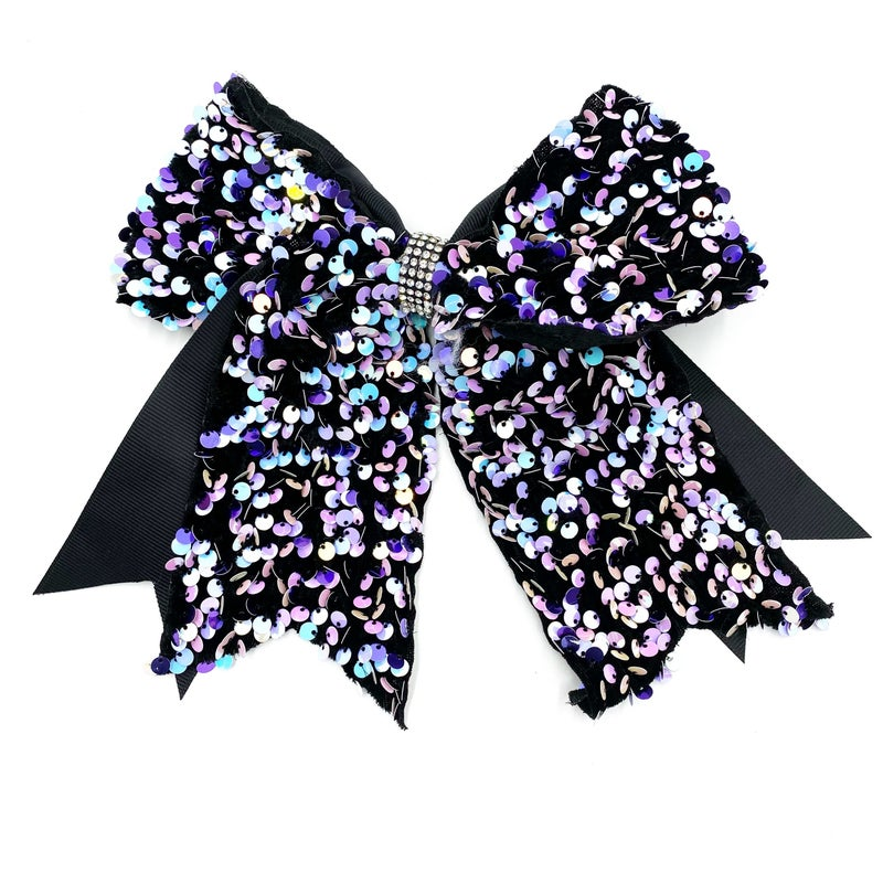 Black contrast bow