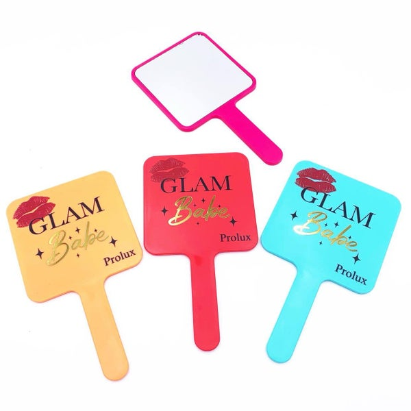 Handheld Glam Babe Mirror