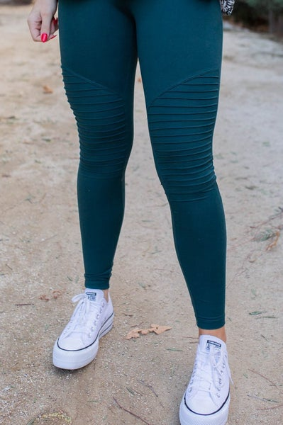 Moto Moto Hunter Green Leggings