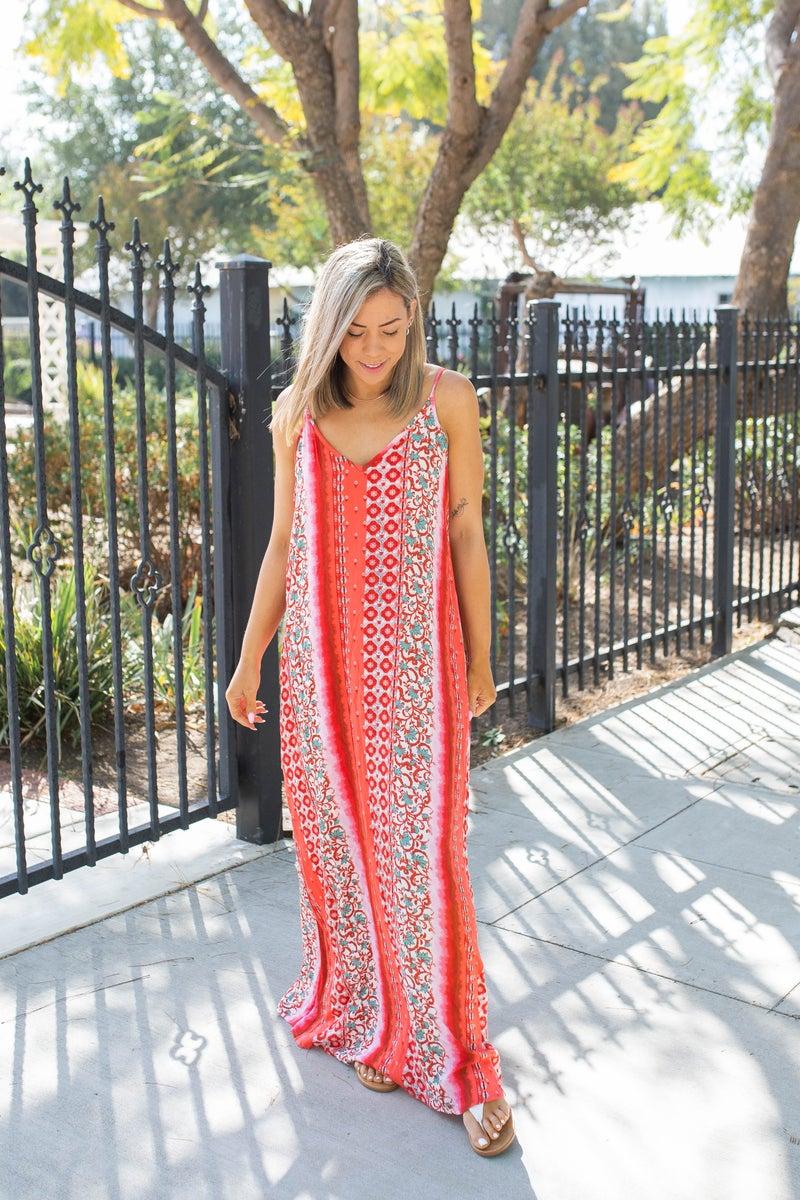 Be The Change Maxi Dress