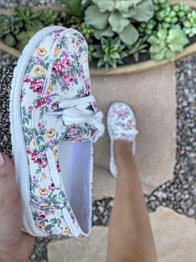 Gypsy Jazz Caroline Floral Sneaker