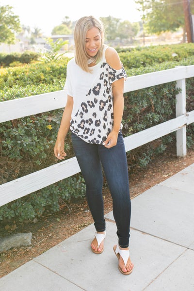Too Wild To Tame Short Sleeve Top