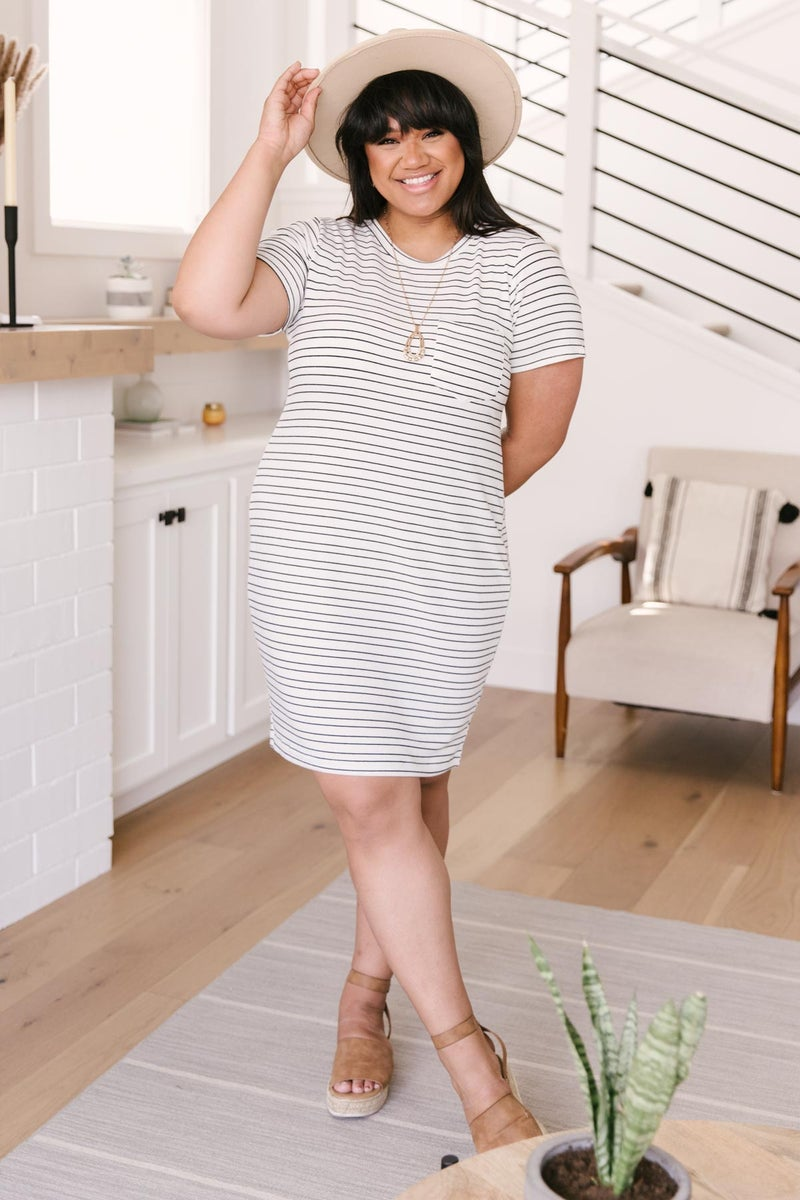 Stockholm Stripes T-Shirt Dress