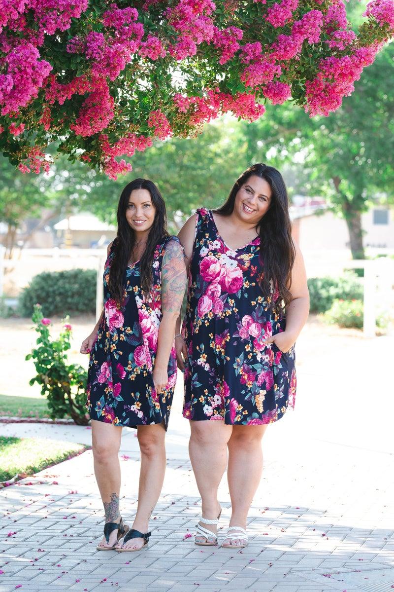 Pretty As a Flower Swing Dress