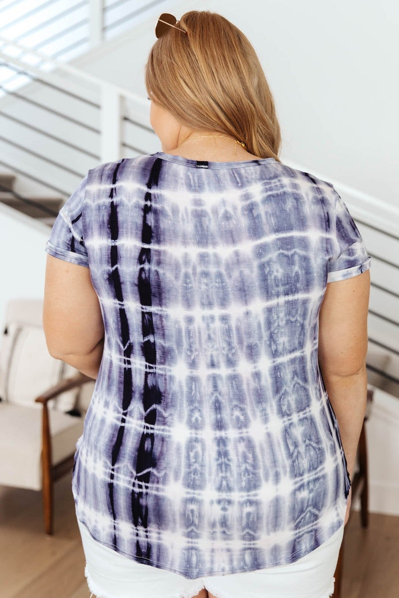 Wham Bamboo Top In Navy