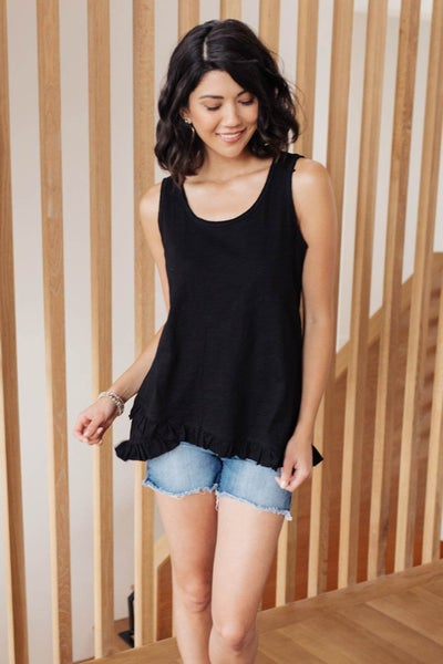 Anything But Ordinary Tank in Black
