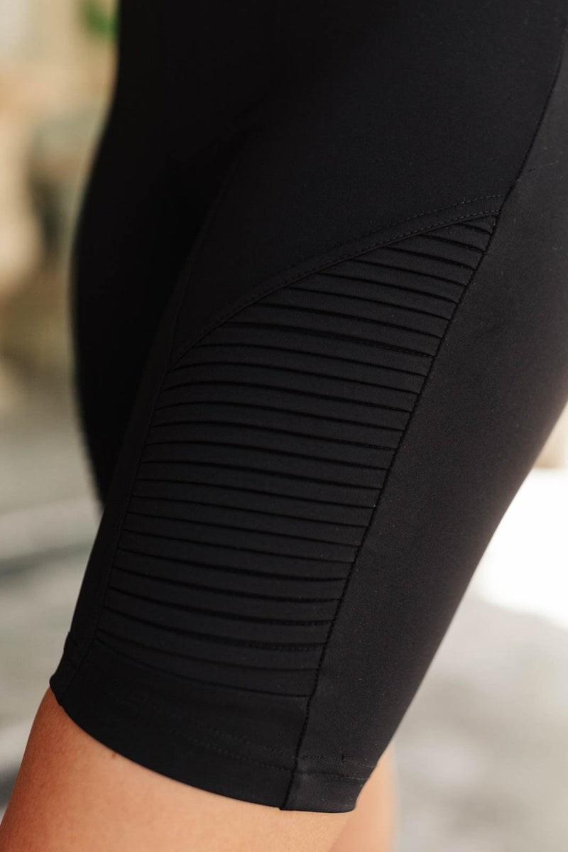 Biker Chic Shorts