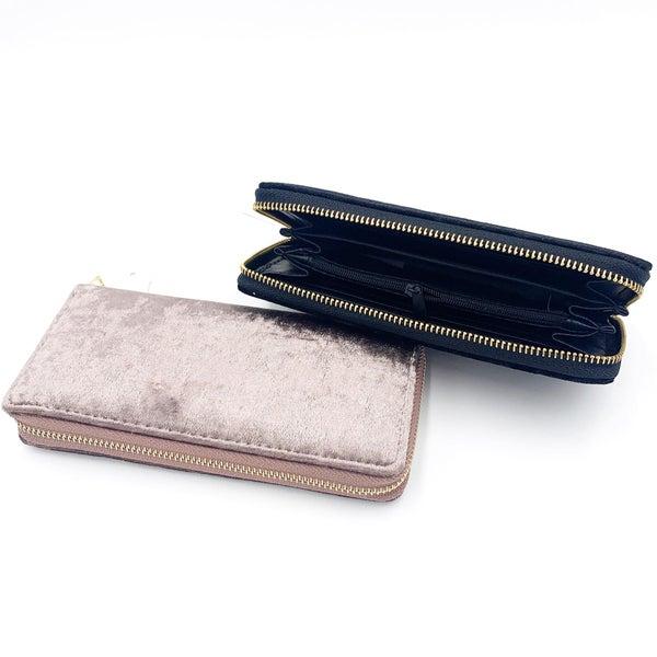 Crushed Velvet Wallet