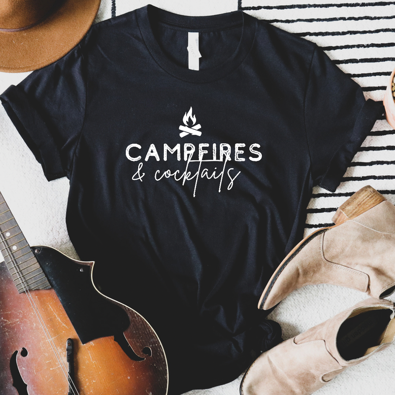 Camp fires and cocktails