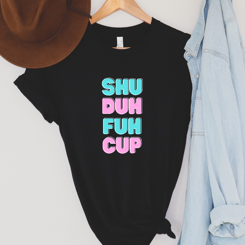 SHU duh fuh cup