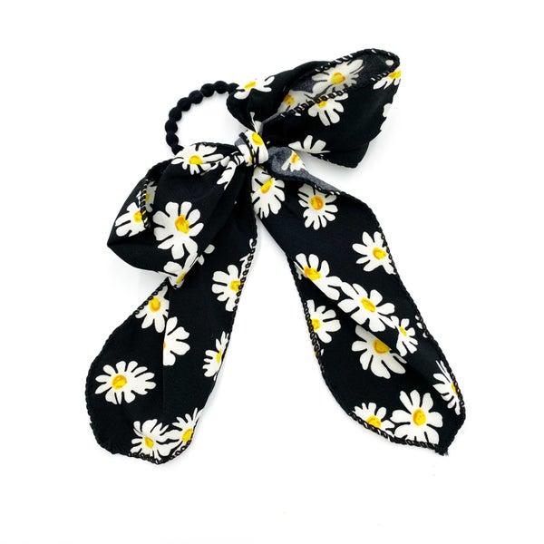 Daisy Bow Scrunchie