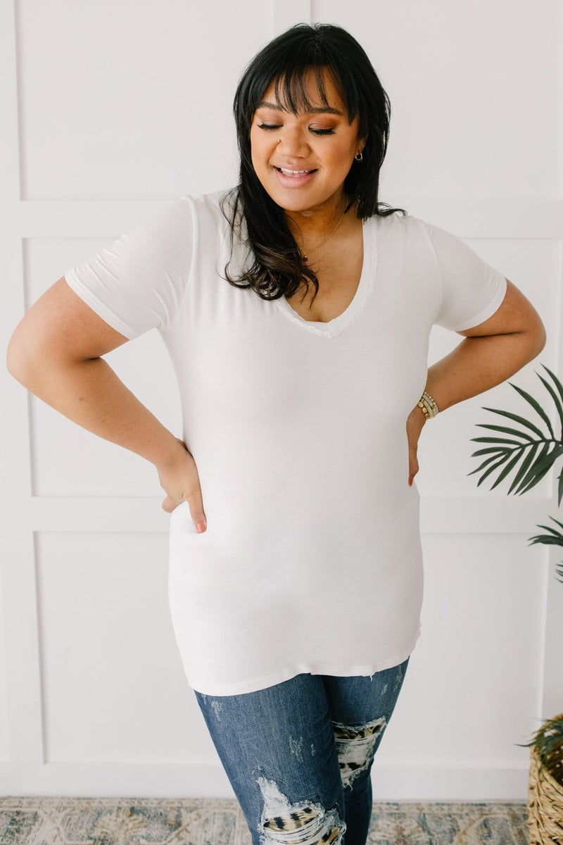 Andy Top in Ivory
