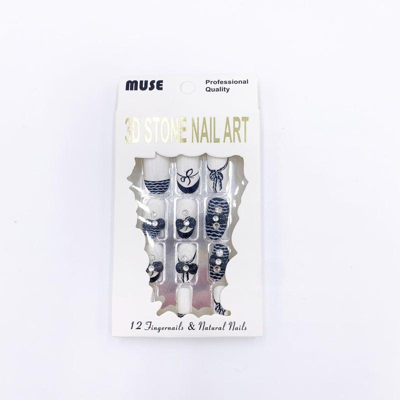 3D Stone Nail Art