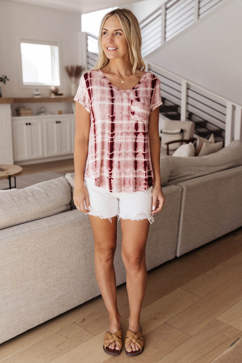 Wham Bamboo Top In Wine