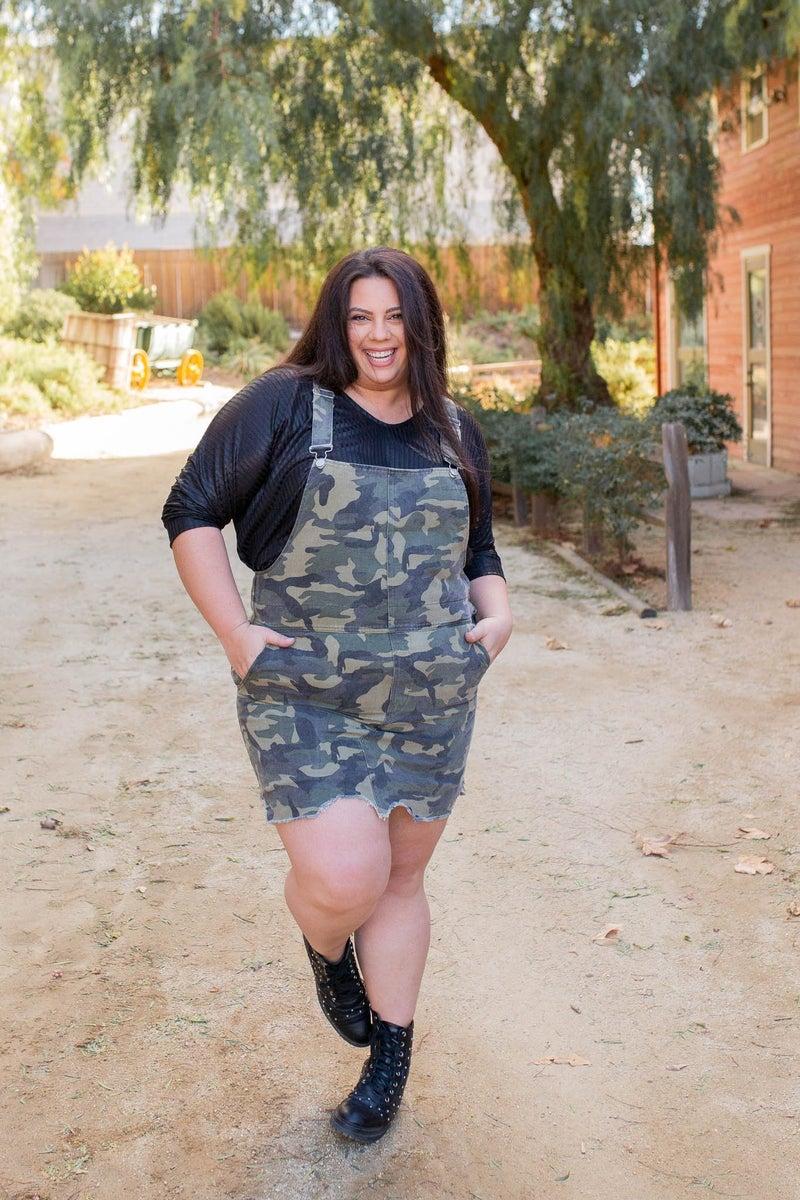 Hide N' Seek Overall Dress