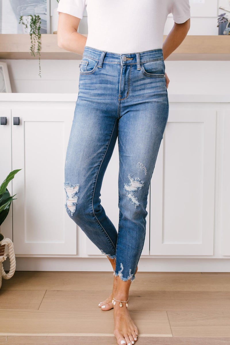 Just For The Distressing Jeans
