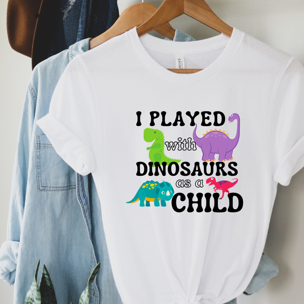 I played with dinos
