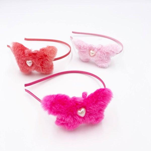 Butterfly Heart Headband