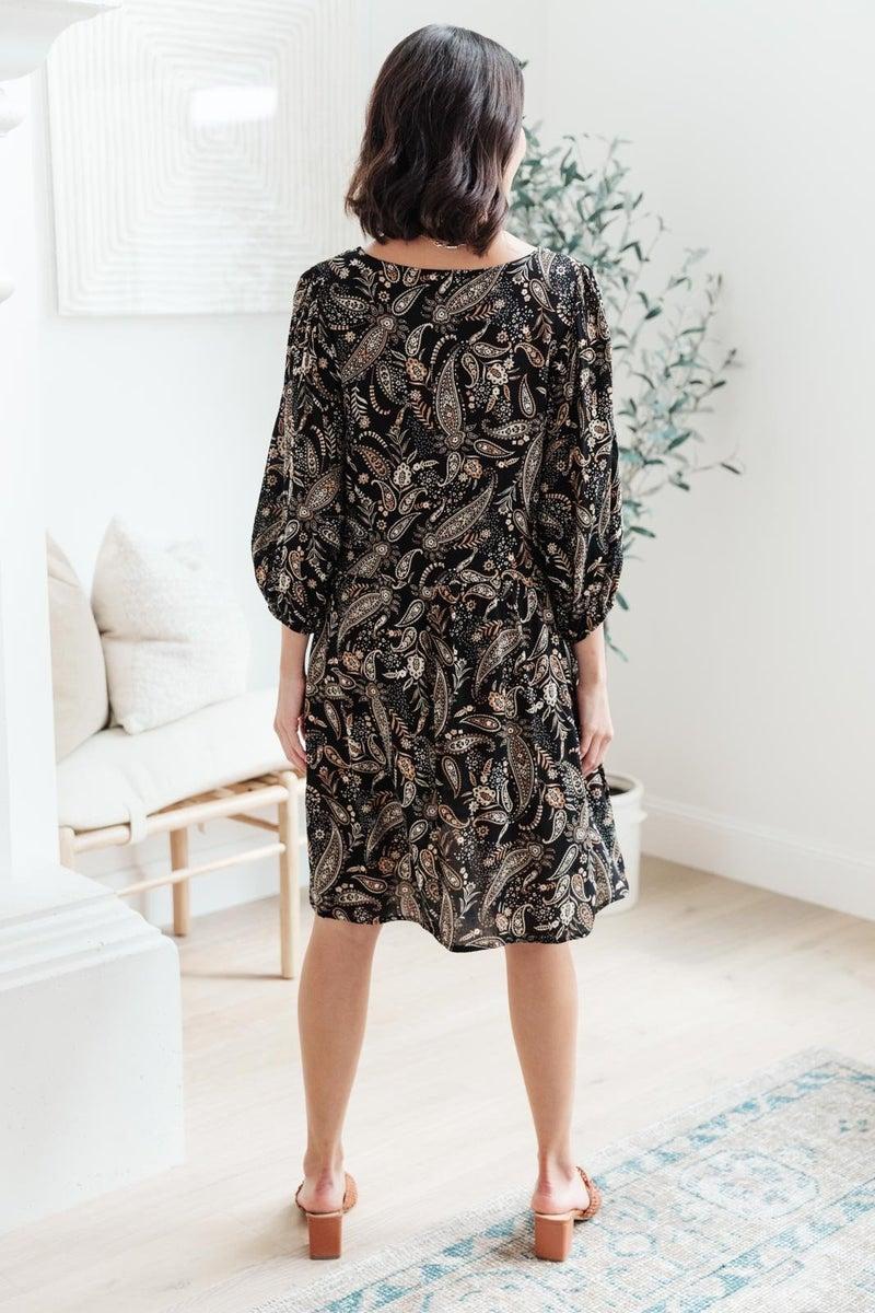 London Paisley Dress