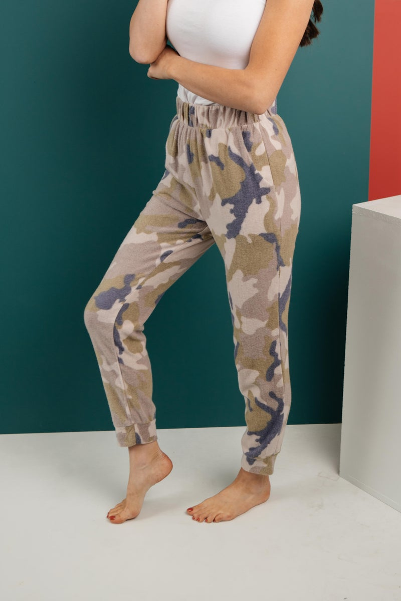 Brushed Camouflage Bottoms