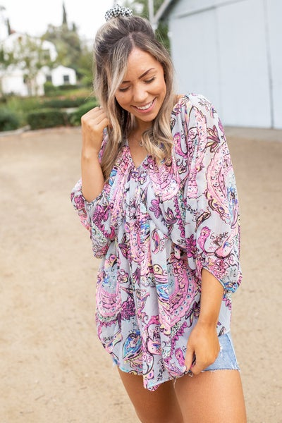 Mystic Vibes Woven Top