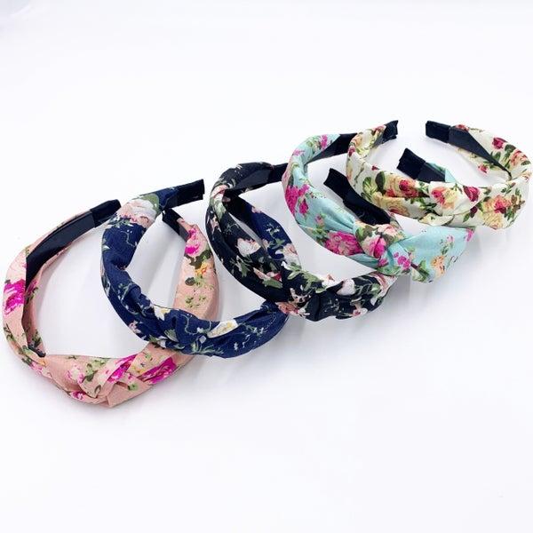 Floral Hard Headband