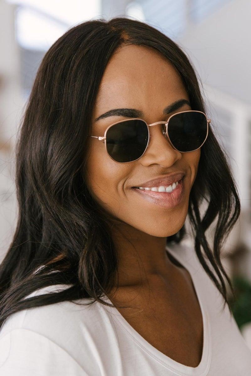 Hexagonal Horizon Sunglasses