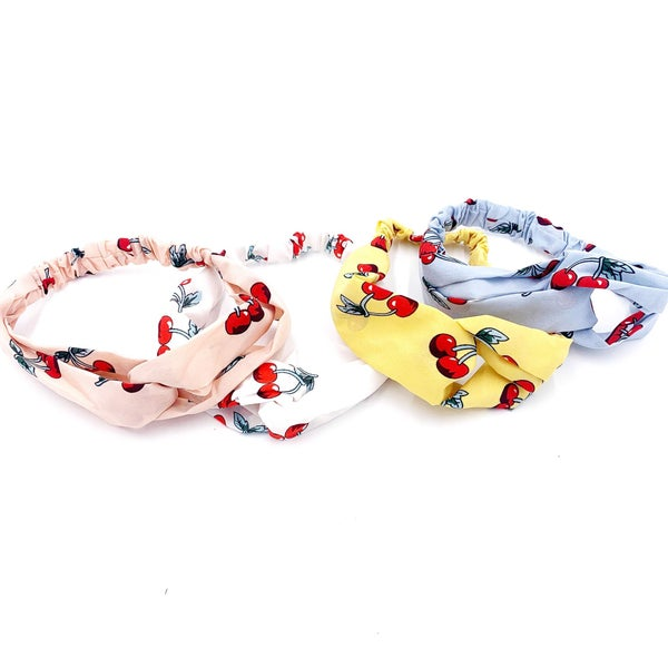 Twin Cherry Headband