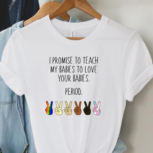 I promise to teach