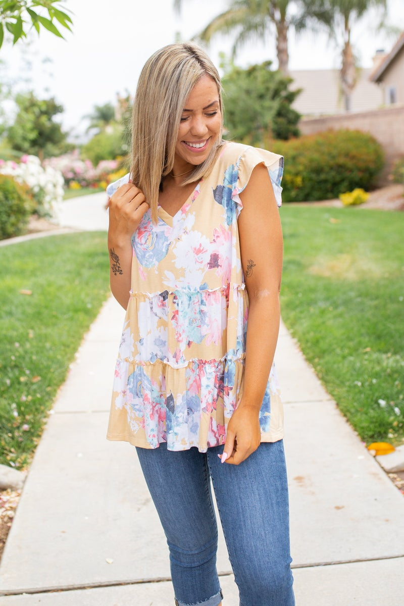 Highest Potential Ruffled Top