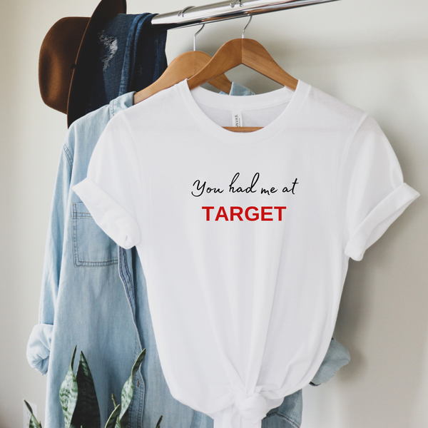 You had me at Target